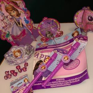 DISNEY Sofia the First Party Supplies